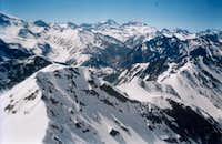 Summit view of Mirador del...