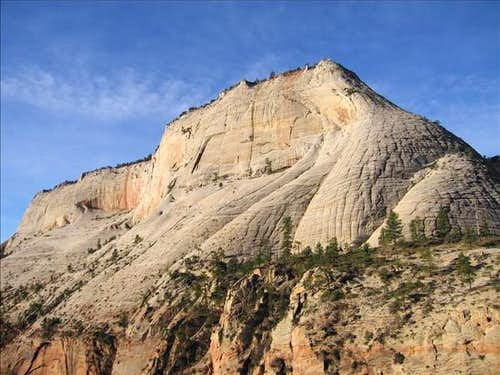 Cathedral Mountain from the...