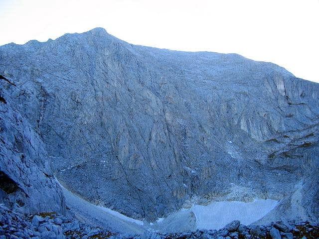 Amazing North Face of Vihren...