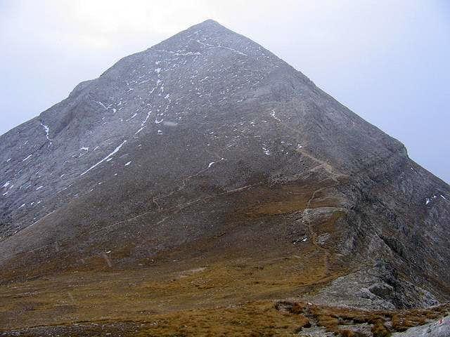 West Face of Vihren (2914 m)...