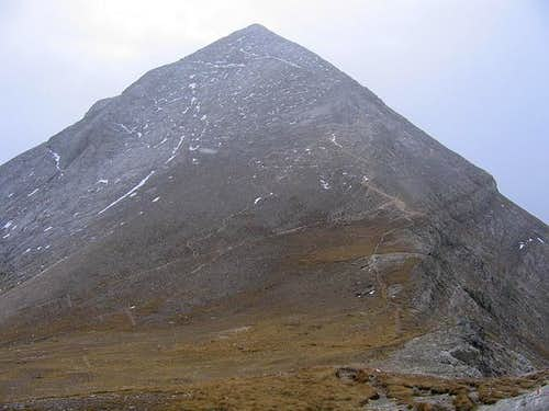 West Face of Vihren (2914 m)...