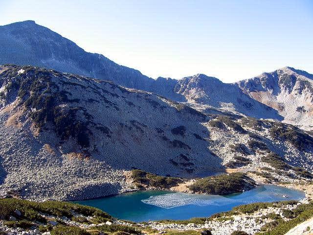 Ribno Ezero (Fish Lake) is...