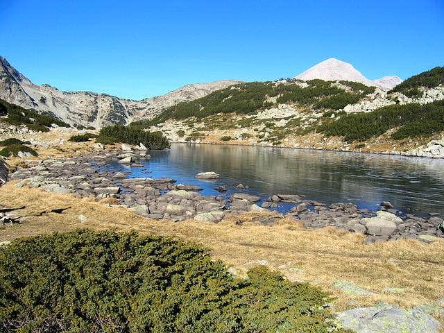 Alpine scenery of Banderisko...