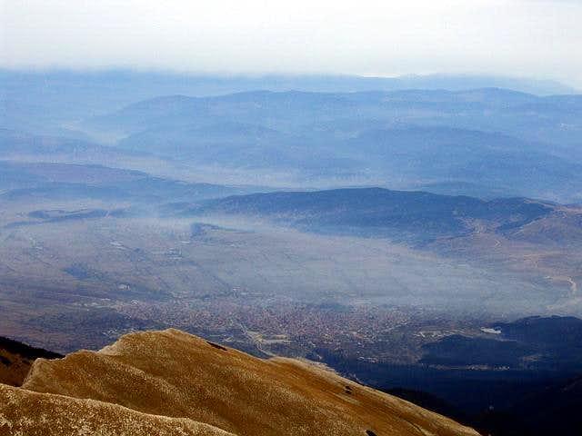 Vihren (2914 m) N summit...