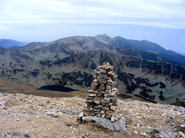 Vihren (2914 m) S summit...