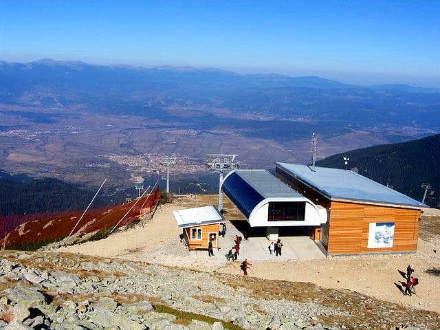 Bansko ski infrastructure on...