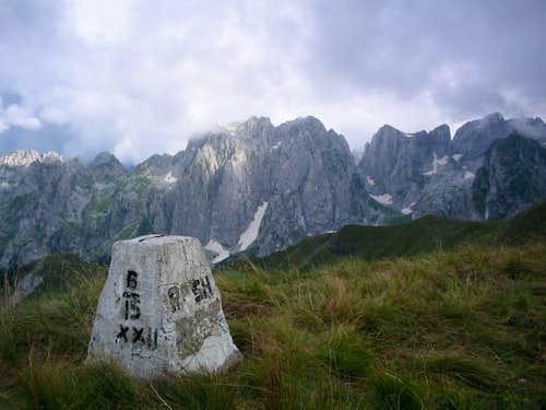 Prokletije from Popadija peak...