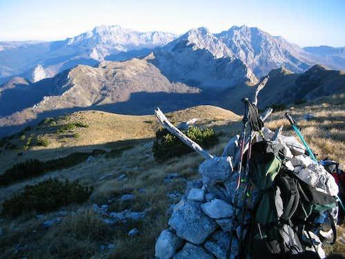 View from Ugljesin peak on...