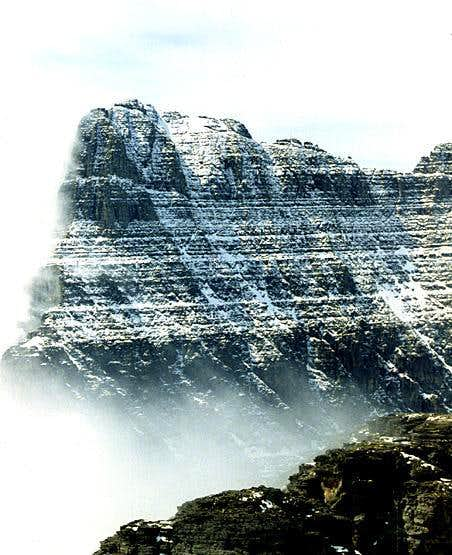 The north face of Cements Mountain.