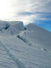 cool crevasse on the easton...