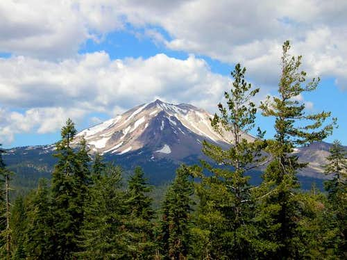 lassen from a distance in...