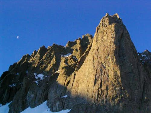 Temple Crag at sunrise. May...