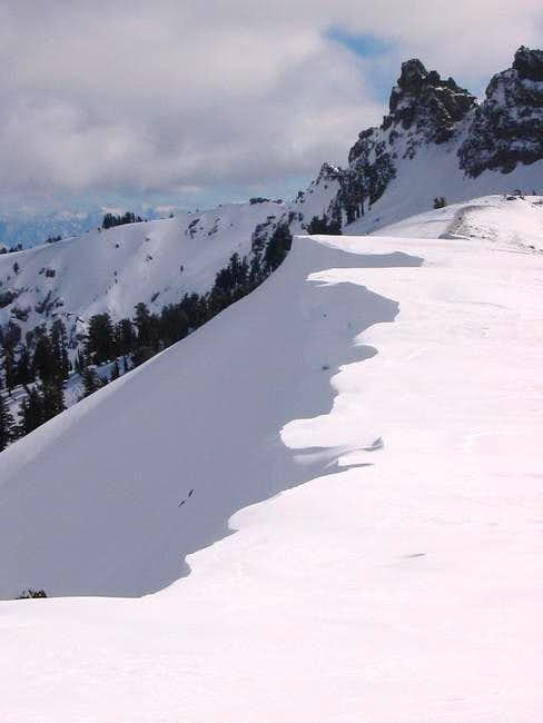 amazing cornices on the...