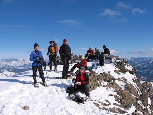 scene at the summit