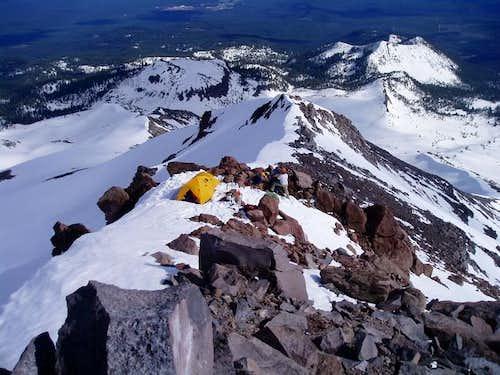 Looking down Sargent's Ridge...