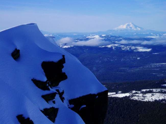 South side of Shasta from the...