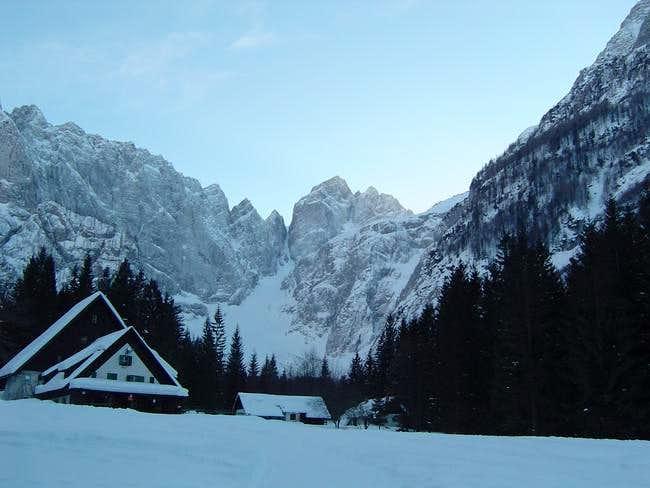 Tamar hut & Jalovec