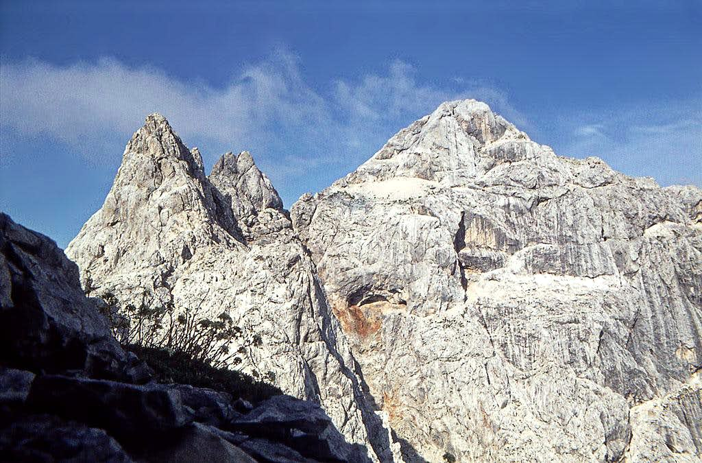 The summit of Prisojnik