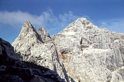 The summit of Prisojnik