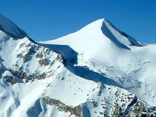 Kutelo (2809 m) under snow...