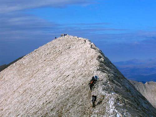 On beautiful Koncheto Ridge...