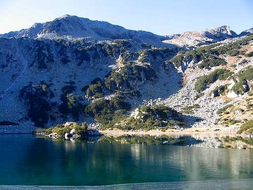 Ribno Ezero (Fish Lake) from...