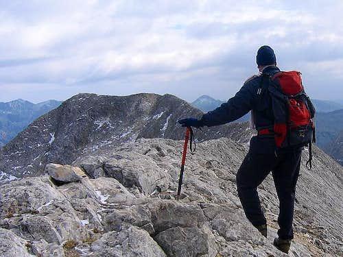 On Koncheto Ridge (2850 m) ,...