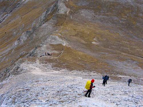 Descent to Kutelo/Vihren...