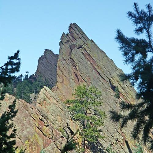 The Third Flatiron from the Southwest