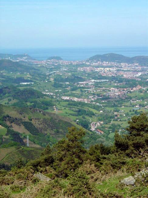 The important city of Donosti...