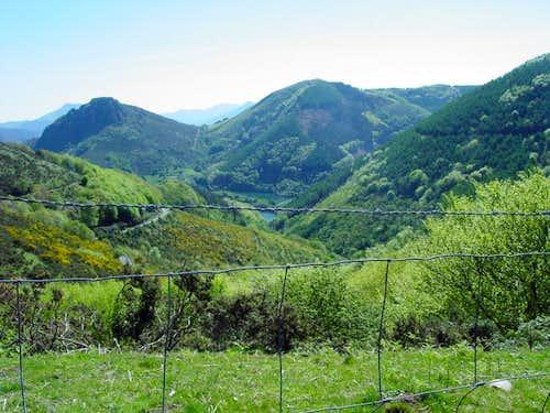 Natural park of Peñas de Aia