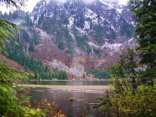 Heather Lake NE of summit