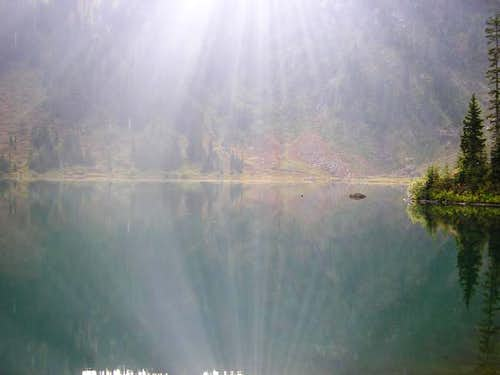 Lake 22 NE of summit