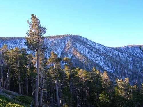 East San Bernardino Peak as...