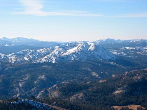 Markleeville Peak as seen...