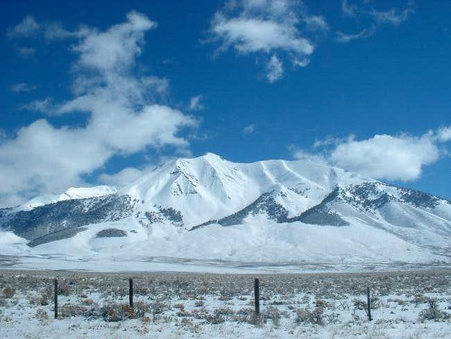 Dickey Peak from U.S. Highway...