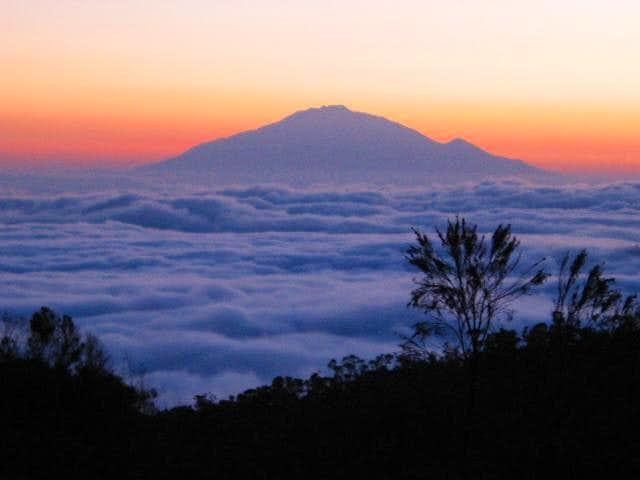 Sunset on Mt. Kilimanjaro -...