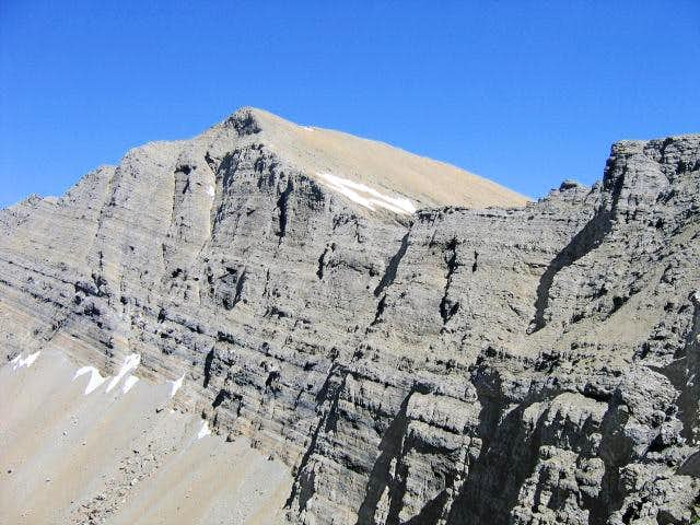Holland Peak, picture taken...