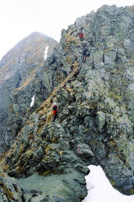 last meters to the Top...