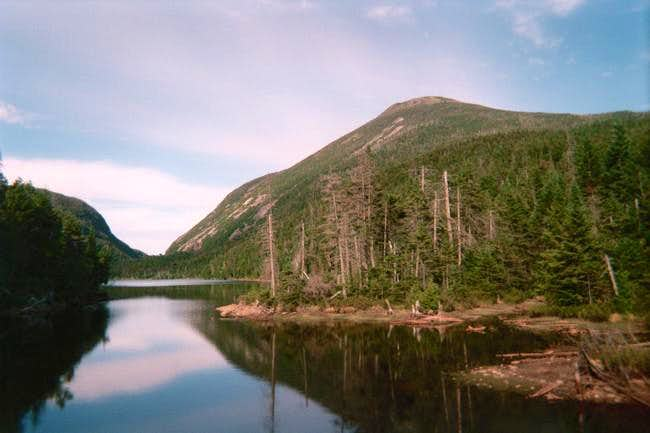 Mt. Colden from Lake Colden...