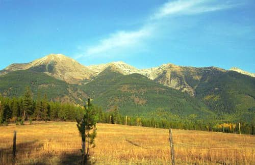 Holland Peak (center) from...