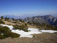 View of Cucamonga Peak (far...