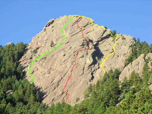 First Flatiron - Direct East Face (5.6)