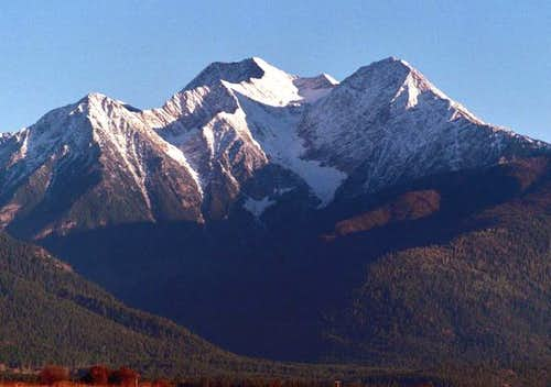 McDonald Peak viewed from the...
