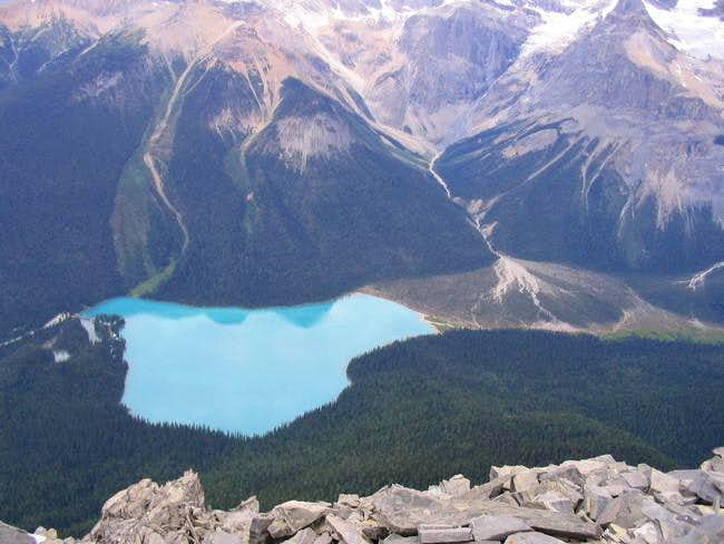 Emerald Lake as seen from the...