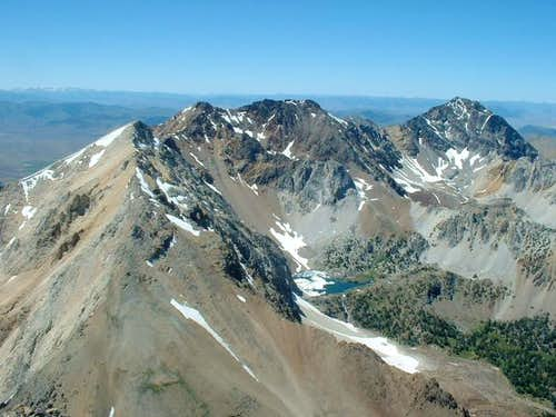 View of Pass Lake from the...