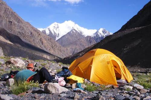 Sonia Peak midway camping