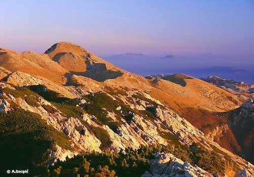 Velebit - Sveto Brdo from Liburnija (by courtesy of Velebit - Aleksandar Gospic)