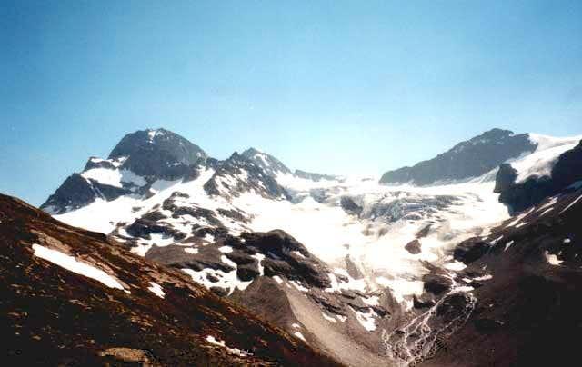 Piz Buin 3312 m (left side)...