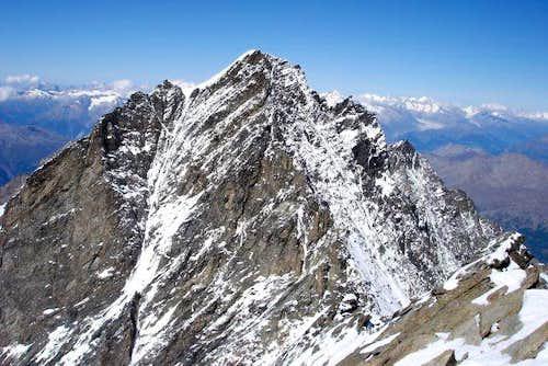 Dom seen from Täschhorn summit